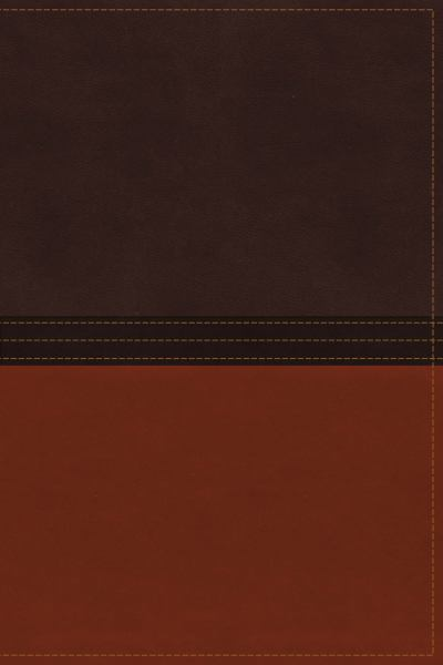 The MacArthur NASB Study Bible Signature Series (Thumb Index, Earth Brown/Burnt Orange Leathersoft)