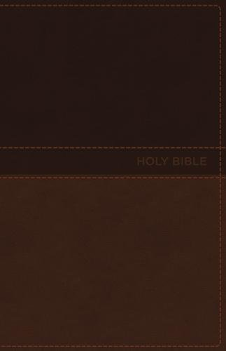 NKJV Deluxe Gift Bible (0513TO, Toffee Leathersoft)