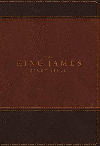 KJV The King James Study Bible (Brown Leathersoft, Full-Color Edition)
