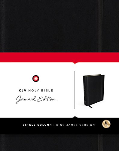 KJV Holy Bible Journal Edition (4582, Black)