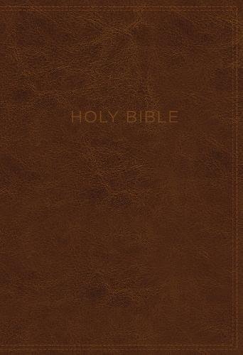 KJV Know the Word Study Bible (Brown Leathersoft)