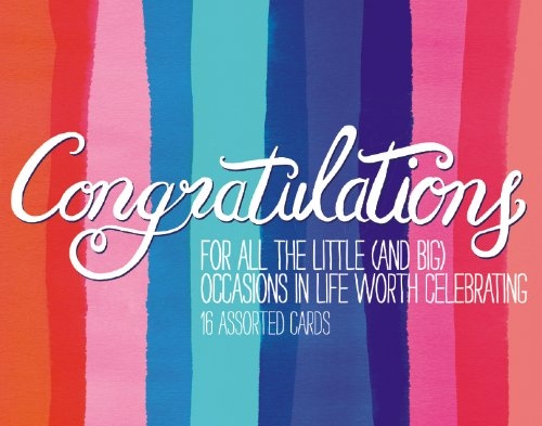 Congratulations Greeting Assortment Boxed Notecards