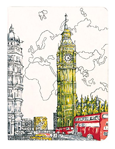 London Big Ben Handmade Journal