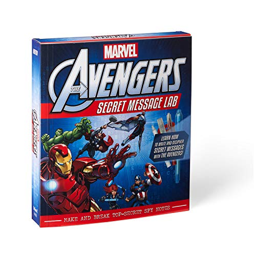 Marvel The Avengers: Secret Message Lab - Make and Break Top-Secret Spy Notes