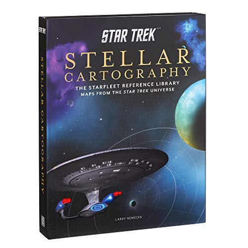 Stellar Cartography: The Starfleet Reference Library Maps from the Star Trek Universe (Star Trek)
