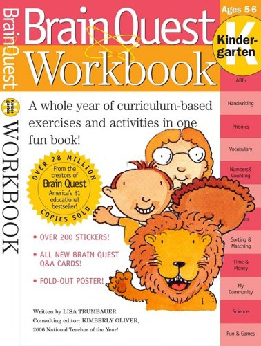 Brain Quest Workbook (Kindergarten)