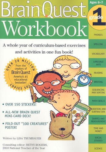 Brain Quest Workbook (Grade 1)