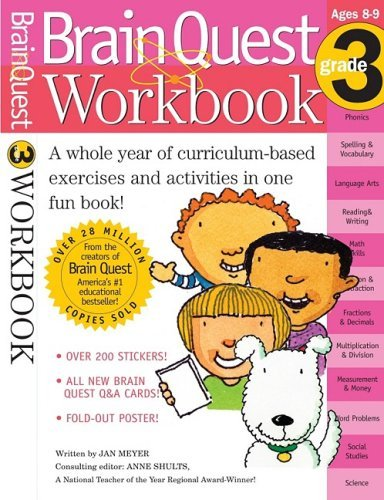 Brain Quest Workbook (Grade 3)