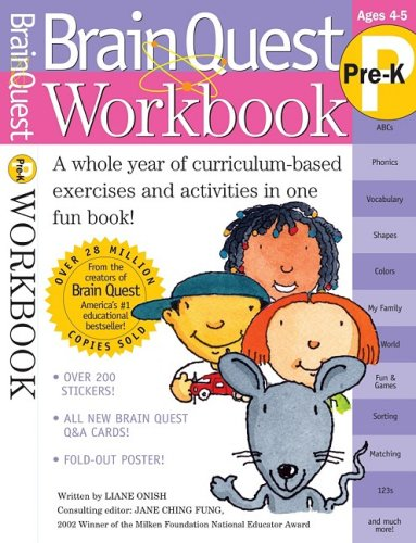 Brain Quest Workbook (Pre-K)