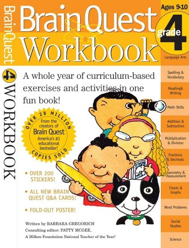 Brain Quest Workbook (Grade 4)