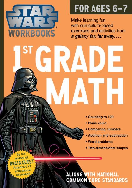 1st Grade Math (Star Wars Workbook)