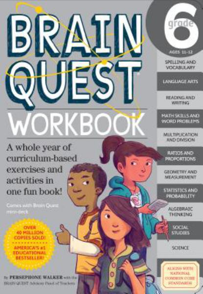 Brain Quest Workbook (Grade 6)