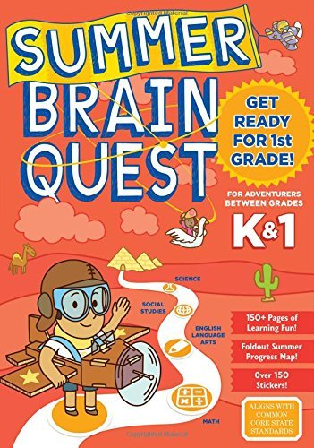 Between Grades K & 1 Workbook (Summer Brain Quest)