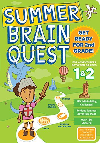 Between Grades 1 & 2 Workbook (Summer Brain Quest)