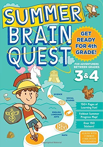 Between Grades 3 & 4 Workbook (Summer Brain Quest)