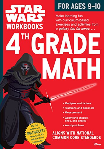 4th Grade Math (Star Wars Workbooks)