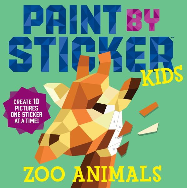 Zoo Animals (Paint by Sticker Kids)