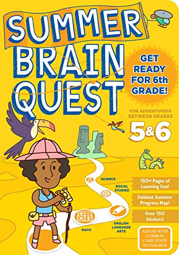 Between Grades 5 & 6 Workbook (Summer Brain Quest)
