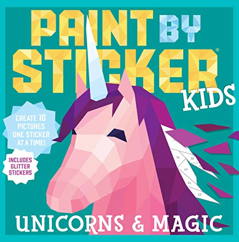 Unicorns & Magic (Paint by Sticker Kids)