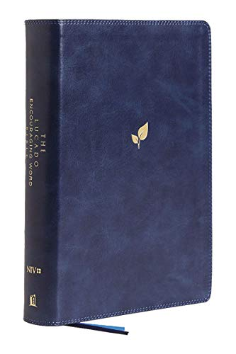 NIV The Lucado Encouraging Word Bible (Thumb Indexed, 9563BL Blue Leathersoft)