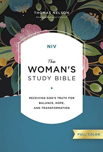 NIV, The Woman's Study Bible (Hardcover, Full Color)