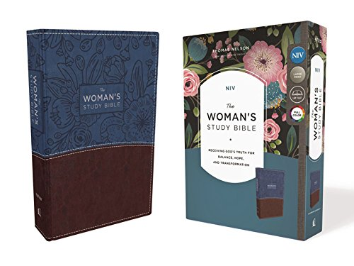 NIV The Woman's Study Bible (Blue/Brown Leathersoft)