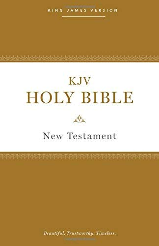 KJV, Holy Bible New Testament (#4820 Softcover)