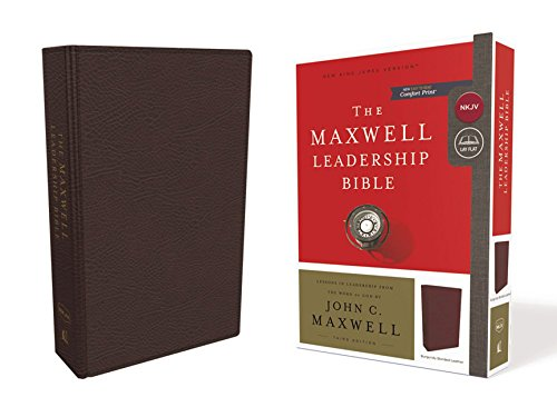 NKJV The Maxwell Leadership Bible (5185BRG Burgundy Bonded Leather, 3rd Edition)