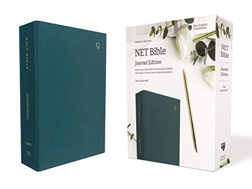 NET Bible Journal Edition (5653T, Teal Leathersoft)