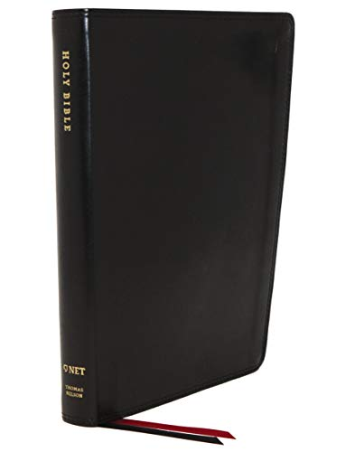 NET Thinline Bible (5693BK, Black Leathersoft)