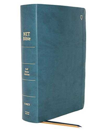 NET Bible Full-Notes Edition (5623T, Teal Leathersoft)