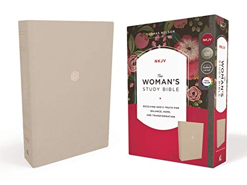 NKJV The Woman's Study Bible (9922CR, Cream Cloth Over Board)