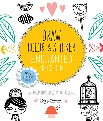 Draw, Color, and Sticker Enchanted Sketchbook