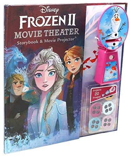 Disney Frozen 2 Movie Theater Storybook & Movie Projector