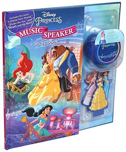 Disney Princess Music Speaker Story Book