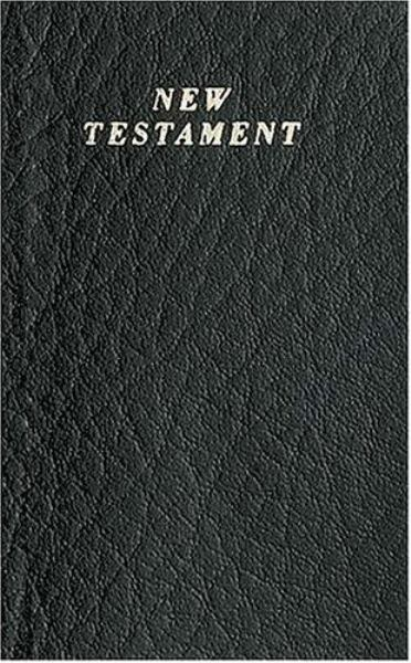 New Testament (KJV, 40, Pocket Version, Black)