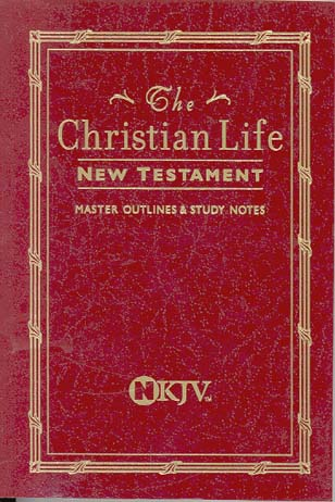The Christian Life New Testament (NKJV, 180BG, Burgundy Leatherflex)