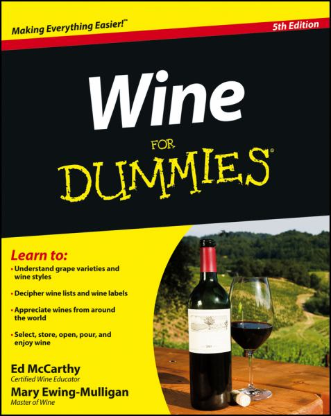 Wine for Dummies (5th Edition)