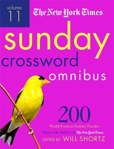 The New York Times Sunday Crossword Omnibus (Volume 11)