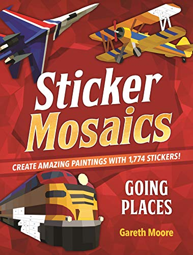Going Places Sticker Mosaics
