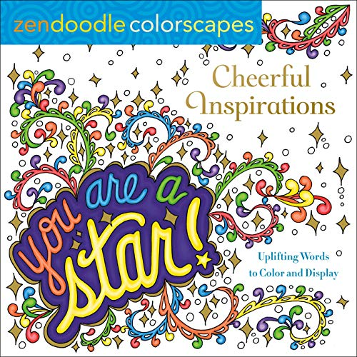 You Are A Star! Zendoodle Colorscapes
