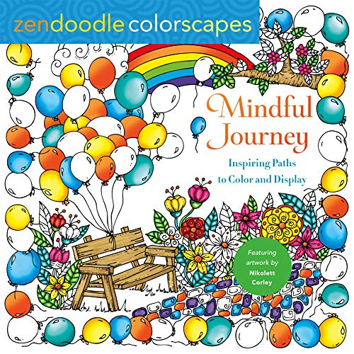 Mindful Journey Zen Doodle Colorscapes