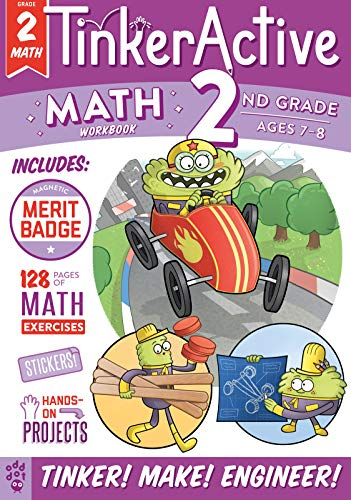 Math Workbook (TinkerActive, Grade 2)