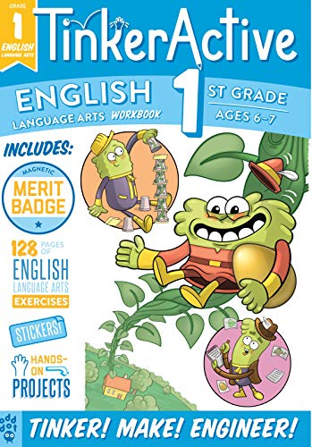 English Workbook (TinkerActive, Grade 1)