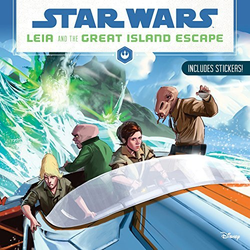 Leia and the Great Island Escape (Star Wars)