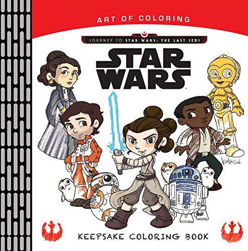 Journey to Star Wars: The Last Jedi Keepsake Coloring Book ...