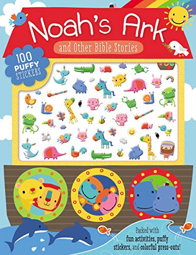 Noah's Ark and Other Bible Stories Sticker Activity Book