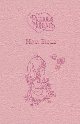 ICB Precious Moments Holy Bible (Pink Leathersoft)