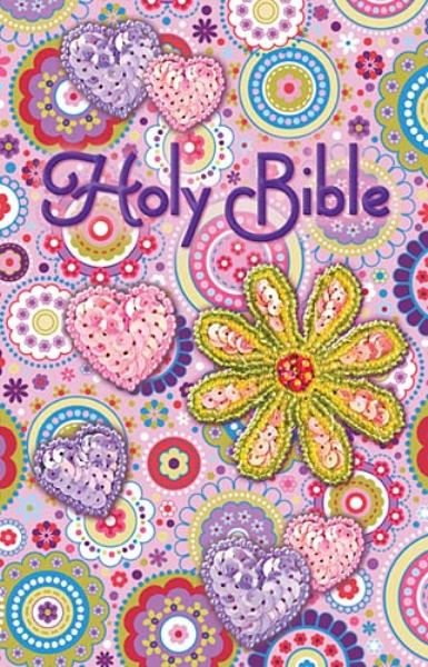 ICB Holy Bible (Pink Shiny Sequin Bible)