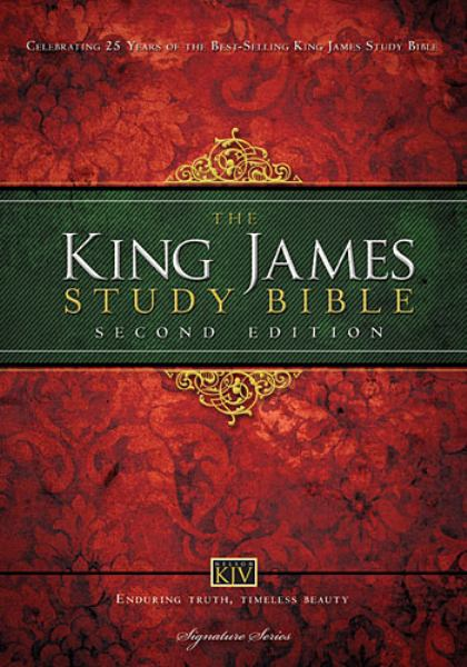 The King James Study Bible (0132N, 2nd Edition)
